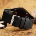 Montre Bois Homme avec bracelet cuir - Leroy