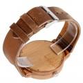 Montre Bois Homme avec bracelet cuir - Francisco