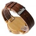 Montre Bois Homme avec bracelet cuir - Bill