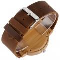 Montre Bois Homme avec bracelet cuir - Jerome