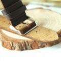 Montre Bois homme et femme avec bracelet cuir