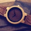 Montre Bois Homme avec bracelet cuir - Clyde