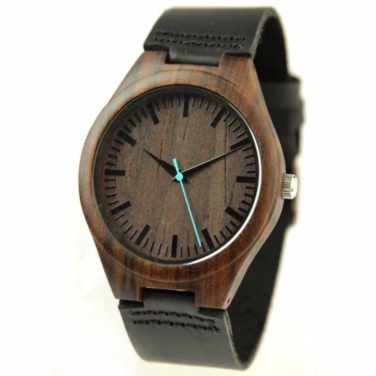 Montre Bois Homme avec bracelet bois - Timothy