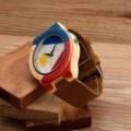 Montre Bois Homme avec bracelet bambou - Edgar