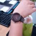 Montre Bois Homme avec bracelet cuir - Kurt