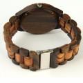 Montre Bois Homme avec bracelet bois - Gregory