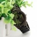 Montre Bois Homme avec bracelet cuir - Freddie
