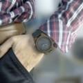 Montre Bois Homme avec bracelet cuir - Julius