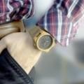 Montre Bois Homme avec bracelet cuir - Trevor