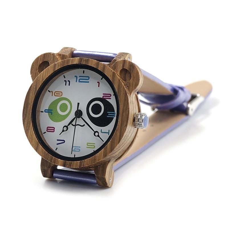 montre bracelet cuir enfant