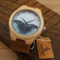 Montre Bois Homme avec bracelet cuir - Roderick