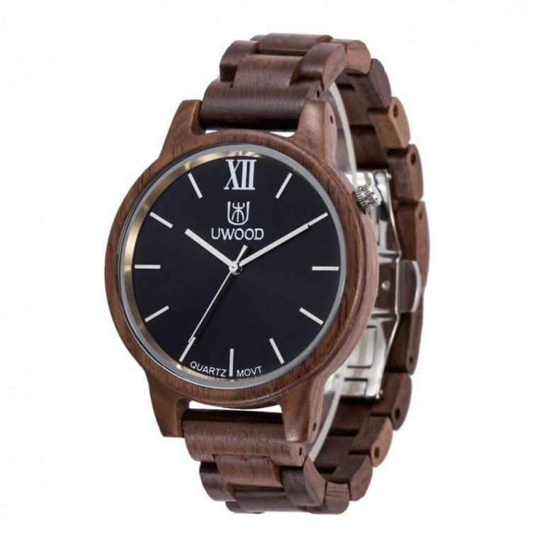 Montre Bois Homme avec bracelet bois - Alton