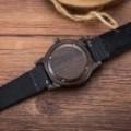 Montre Bois Homme avec bracelet cuir - Wim