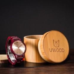 Montre Bois Homme avec bracelet bois - Alton 2