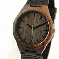 Montre Bois Homme avec bracelet bois - Henry