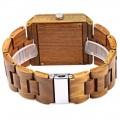 Montre Bois Homme avec bracelet bois - Piter