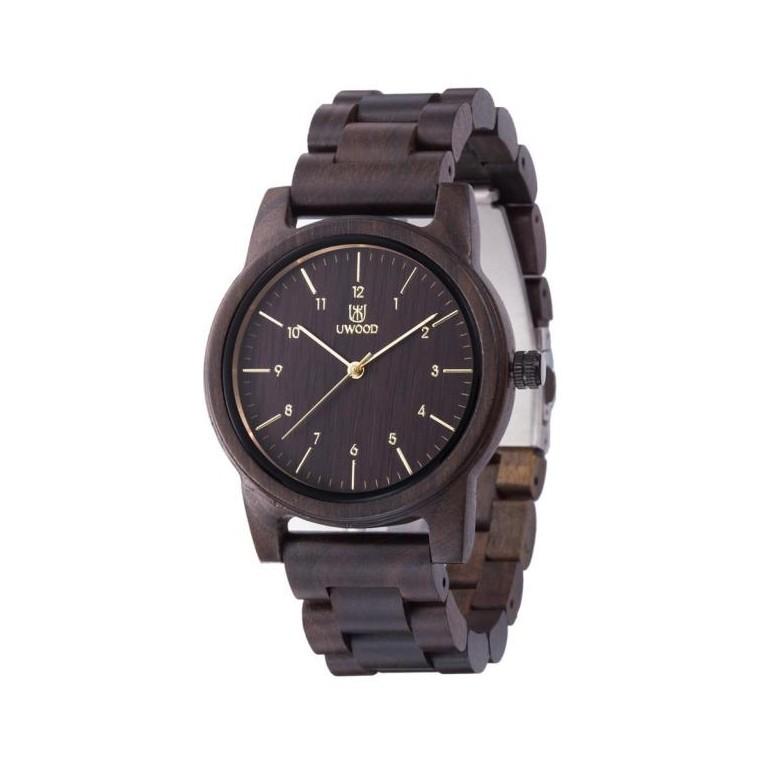 Montre Bois Homme avec bracelet bois - Alton 4