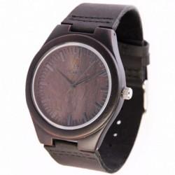 Montre Bois Homme avec bracelet cuir - Albert