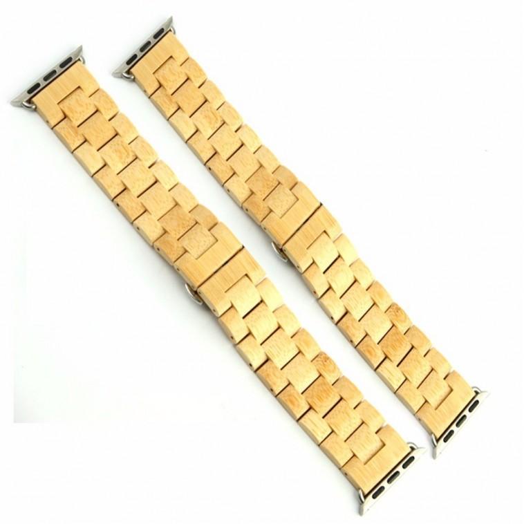 Montre Bois Homme avec bracelet bois - Justin