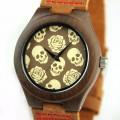 Montre Bois Homme avec bracelet cuir - Howard