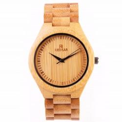 Montre Bois Homme avec bracelet bambou - Joshua