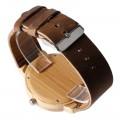 Montre Bois Homme avec bracelet cuir - Jimmy