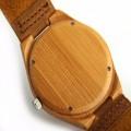 Montre Bois Homme avec bracelet cuir - Mark