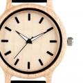 Montre Bois Homme avec bracelet cuir - Antonio