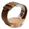 Montre Bois Homme avec bracelet cuir - Dale