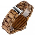 Montre Bois Homme avec bracelet bois - Marvin